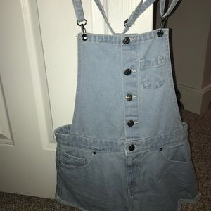 forever21 shorts overalls